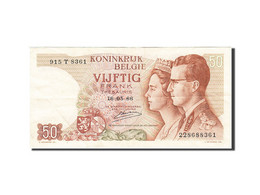 Belgique, 50 Francs, 1964-1966, KM:139, 1966-05-16, TTB - [ 6] Staatskas