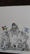 CPM POLITIQUE DESSIN PLANTU 16 DECEMBRE 2001 YASSER ARAFAT JOUE SON AUTORITE SATIRIQUE - Evenementen