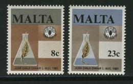 FAO -   MALTA   FOOD - Tegen De Honger