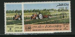 FAO -   QATAR  FOOD - Tegen De Honger