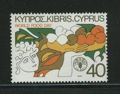 FAO -   CYPRUS  FOOD - Tegen De Honger