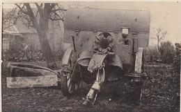 62 Monchy Pas De Calais Foto 1.Weltkrieg Deutsche Soldaten Arras Schlacht Englisches Erbeutetes Geschütz Rohrkrepierer - France