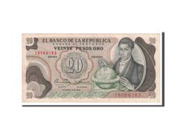 Colombie, 20 Pesos Oro, 1966, KM:409A, 1966-10-12, SPL - Colombie