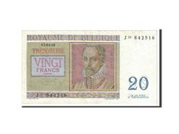 Belgique, 20 Francs, 1956, KM:132b, 1956-04-03, TTB+ - [ 6] Treasury