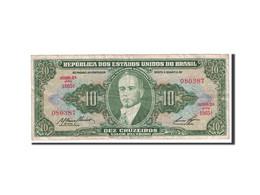 Brésil, 10 Cruzeiros, 1953, KM:159e, Undated, TTB - Brésil