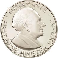Jamaica, Elizabeth II, Dollar, Bustamante, 1976, Franklin Mint, FDC - Jamaica