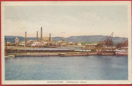 Monfalcone - Gorizia. Viaggiata Nel 1932. Porto Industriale Con Stabilimento Solway. Ottima. - Gorizia