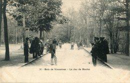PETANQUE(VINCENNES) - Pétanque
