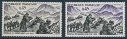 France Y&T 1601 - Bataille De Garigliano 1944 - Sans Le Violet - Neuf Sans Charnières Et Défaut Dentelure à Droite. - Curiosa: 1960-69 Postfris