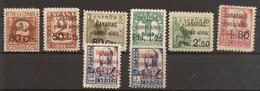 CANARIAS  Edifil  Especializado   23/30* MH   1937   Serie Completa   NL1149 - Emisiones Nacionalistas