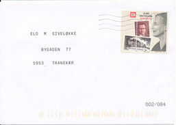 Denmark Cover With A Stamp From Minisheet 19-10-2001 - Danemark