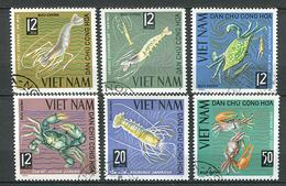 Vietnam Du Nord Ob N° 442 à 447 - Crustacés - - Vietnam
