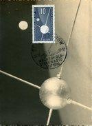 16504 Germany Ddr, Maximum  1957  Geophysical Year, Geophysikalisches Jahr 1957,   Mi-603 - DDR