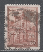 Ecuador 1947. Scott #478 (U) Jesuits' Church Quito * - Equateur