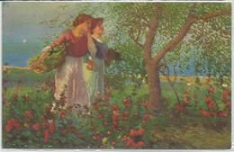 Cascella Basilio, Vallalta 22.7.1916, Le Stornellatrici. - Unclassified