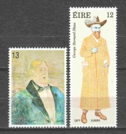 Ireland Eire 1980 Mi 417-418 MNH CEPT EUROPA - Unused Stamps