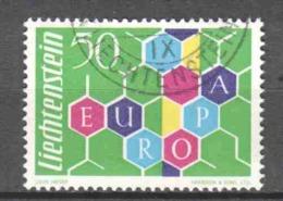 Liechtenstein 1960 Mi 398 Canceled CEPT EUROPA - Liechtenstein