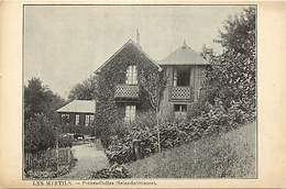"""-ref-P188- Seine Maritime - Petites Dalles - Villa """" Les Myrtils """" - Villas - Batiments Et Architecture - Carte Bon Etat - Autres Communes"""