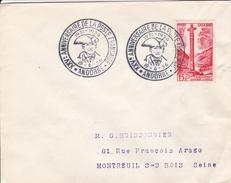 Andorre - Enveloppe - Oblitération - Lettres & Documents