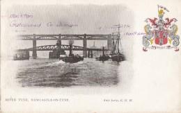 Royaume-Uni - Newcastle On Tyne - River Tyne - Blason Fortier Defendit Triumphans - Bâteaux Pont - Newcastle-upon-Tyne
