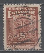 Ecuador 1940. Scott #RA49 (U) Communication Symbols ** - Equateur