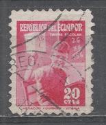Ecuador 1954. Scott #RA73 (U) Young Student At Desk ** - Equateur