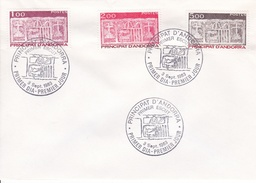 Andorre - Enveloppe - Oblitération - Briefe U. Dokumente