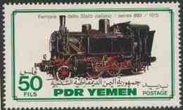 PDR Yemen / South Yemen 1983 Mi 321 YT 286 ** Class 880 Steam Locomotive (1915) Italy / Italien - Treni