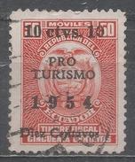 Ecuador 1954. Scott #RA68 (U) Revenue Stamp * - Equateur