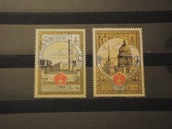 RUSSIA - 1980 OLIMPIADI DI MOSCA 2 VALORI - NUOVI(++) - 1923-1991 UdSSR
