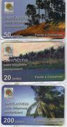 TOGO 1996-98 PREPAYE PREPAID 3 CARTES ACCESS CARDS 20, 50 ET 200 UNITES
