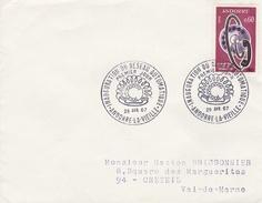 Andorre - Enveloppe - Oblitération - Cartas