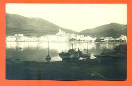 "CPA Carte Photo - Espagne - Cadaquès ( Costa Brava ) "" Sans Titre  "" Port -  LJCP 16 - Spagna"