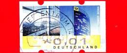GERMANIA - Deutschland - Usato - 2009 - ATM 6 Automatenmarke - 0.01 - Distribuidores