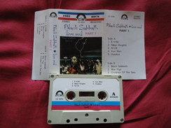 BLACK SABBATH LIVE AVIL PART ONE  RARETE K7 AUDIO VOIR PHOTO..REGARDEZ LES AUTRES (PLUSIEURS) LIRE LE TEXTE... - Audiokassetten