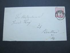 PARCHIM , Klarer Stempel Auf Brief Um 1872, Brief Mit öffnungsmängel - Mecklenburg-Schwerin