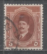Egypt 1923. Scott #96 (U) King Fuad - Égypte