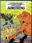 Hugot - Les Expéditions Du Professeur ARMSTRONG - ( N° 1 ) - Dargaud - ( E.O 1985 ) . - Bücher, Zeitschriften, Comics