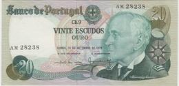 PORTUGAL 20 Escudos 13/09/1978 VF++ P176a - Portugal