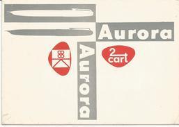 Aurora, Penne Stilografiche, Carta Assorbente Pubblicitaria Cm. 10,50 X 15. - Cartoleria