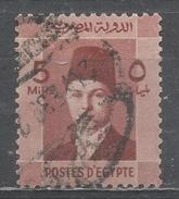 Egypt 1937. Scott #210 (U) King Farouk - Égypte