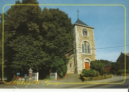 Stockay-St.-Georges -- Eglise  De  St-Georges.       (2 Scans)