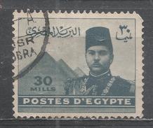 Egypt 1939, Scott #234 King Farouk And Pyramids (U) - Égypte