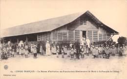 Congo Français - La Maison D'habitation Des Franciscaines Missionnaires De Marie à St-François-de-l'Alima - French Congo - Other