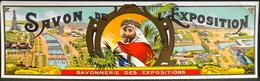 ETIQUETTE ANCIENNE - SAVON De L'EXPOSITION - Savonnerie Des Expositions - En Très Bon Etat - Etiketten