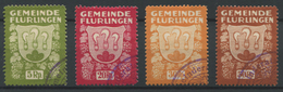 1551 - FLURLINGEN - Fiskalmarken - Fiscaux