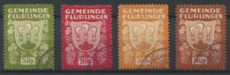 1551 - FLURLINGEN - Fiskalmarken