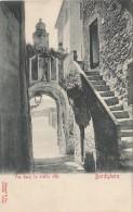 Italie - Bordighera - Vue Dans La Vieille Rue - Précurseur - Imperia