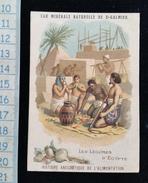 Chromo Eau Minerale Naturelle De St Galmier Les Légumes D'Egypte - Chromos