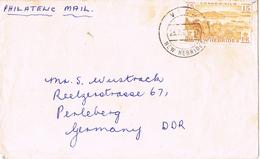 20653. Carta Aerea VILA (New Hebridas) 1961. Condominio Franco Ingles - Cartas